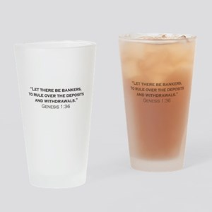 Banker / Genesis Drinking Glass