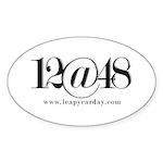 12@48 Sticker (Oval 10 pk)