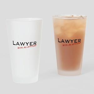 Lawyer / Attitude Drinking Glass