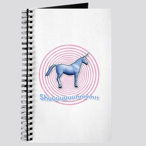 Shuuuunnn! Blue unicorn! Journal