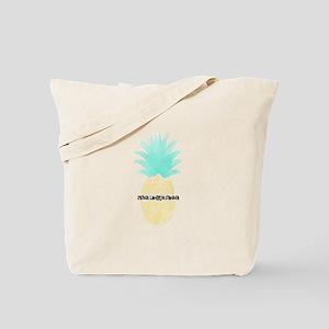 Sigma Lambda Gamma Pineapple Tote Bag