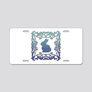 Rabbit Aluminum License Plate