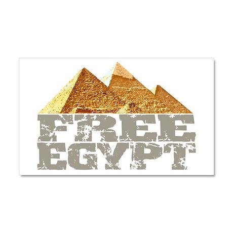 Free Egypt Car Magnet 20 x 12