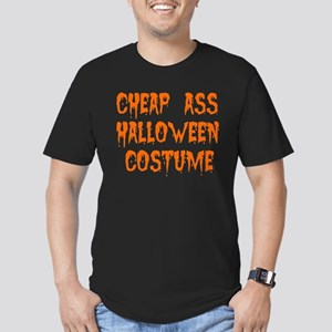 Tiny Cheap Ass Halloween Costume Men's Fitted T-Sh