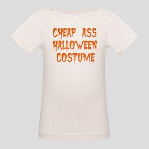 Tiny Cheap Ass Halloween Costume Organic Baby T-Sh