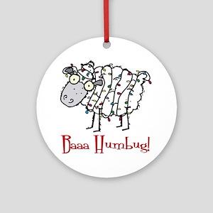 Holiday Humbug Ornament (Round)