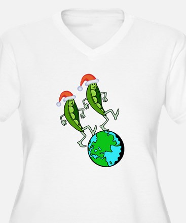 Christmas Peas on Earth T-Shirt
