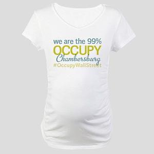 Occupy Chambersburg Maternity T-Shirt