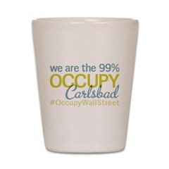 Occupy Carlsbad NM Shot Glass