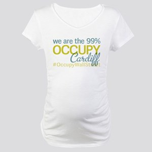 Occupy Cardiff Maternity T-Shirt