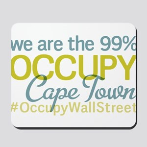 Occupy Cape Town Mousepad