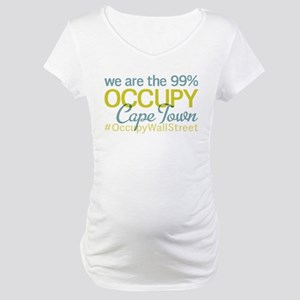 Occupy Cape Town Maternity T-Shirt