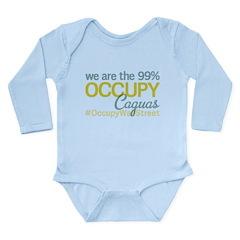 Occupy Caguas Long Sleeve Infant Bodysuit