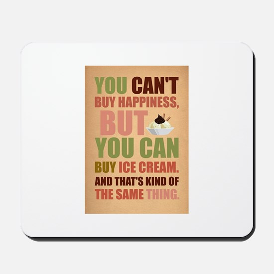 i.heart.ice.cream Mousepad
