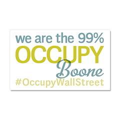 Occupy Boone Car Magnet 20 x 12