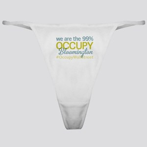 Occupy Bloomington Classic Thong