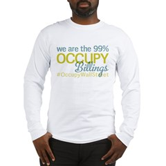 Occupy Billings Long Sleeve T-Shirt