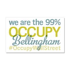 Occupy Bellingham Car Magnet 20 x 12
