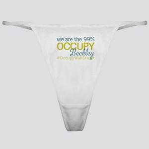 Occupy Beckley Classic Thong