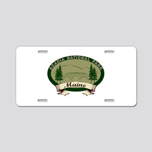 Acadia National Park Aluminum License Plate