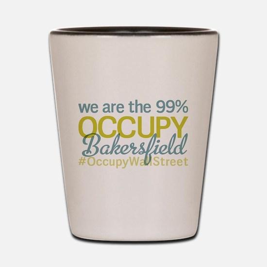 Occupy Bakersfield Shot Glass