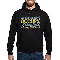 Occupy Bakersfield Hoodie (dark)
