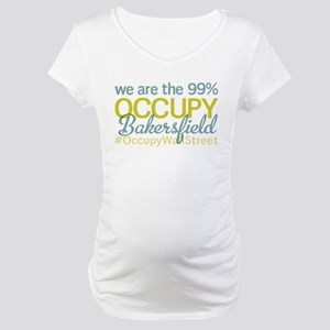 Occupy Bakersfield Maternity T-Shirt