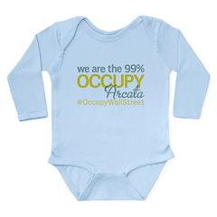 Occupy Arcata Long Sleeve Infant Bodysuit