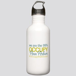 Occupy Ann Arbor Stainless Water Bottle 1.0L