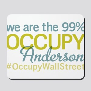 Occupy Anderson Mousepad