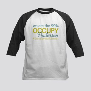 Occupy Anderson Kids Baseball Jersey