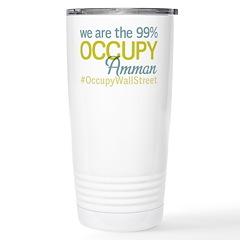 Occupy Amman Stainless Steel Travel Mug