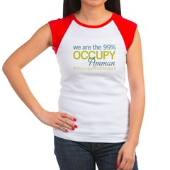 Occupy Amman Women's Cap Sleeve T-Shirt