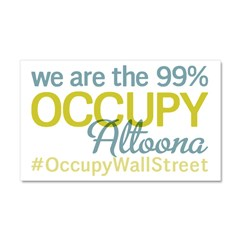 Occupy Altoona Car Magnet 20 x 12