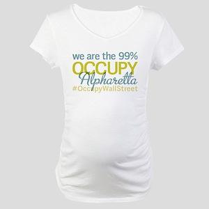 Occupy Alpharetta Maternity T-Shirt