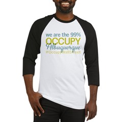 Occupy Albuquerque Baseball Jersey