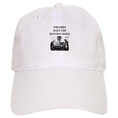 welders joke Baseball Cap