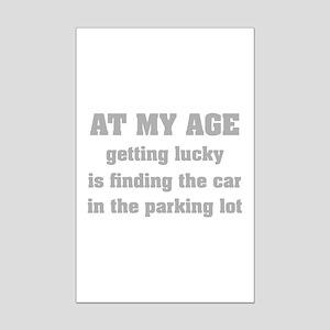 At My Age Mini Poster Print