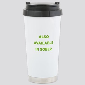 Also Available in Sober Stainless Steel Travel Mug