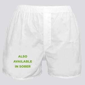 Also Available in Sober Boxer Shorts
