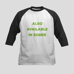 Also Available in Sober Kids Baseball Jersey