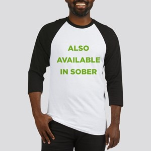 Also Available in Sober Baseball Jersey