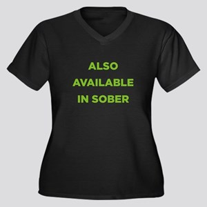 Also Available in Sober Women's Plus Size V-Neck D