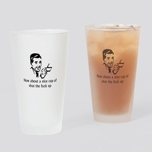 How about a nice cup Drinking Glass