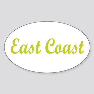 EAST COAST SC Oval Sticker