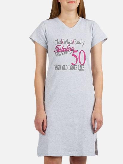 50th Birthday Gifts Women's Nightshirt