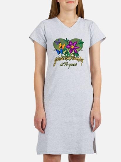 Beautiful 90th Women's Nightshirt