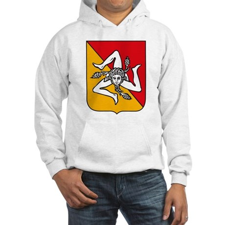 Sicily Coat of Arms Hooded Sweatshirt