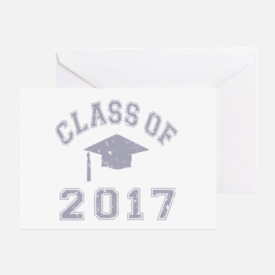 Class Of 2017 Graduation Greeting Card