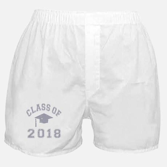 Class Of 2018 Graduation Boxer Shorts